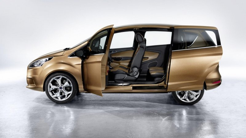 Форд (Ford) начал производство Би-Макса (B-MAX)
