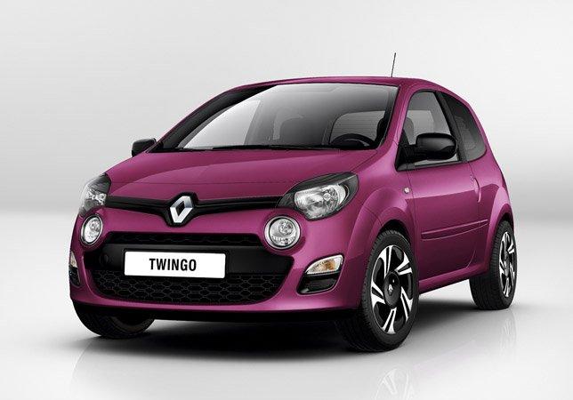 Рено (Renault) показал новый Твинго (Twingo)