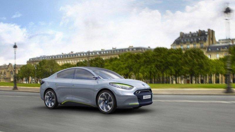 Спортивный Рено Флюенс (Renault Fluence) уже в продаже