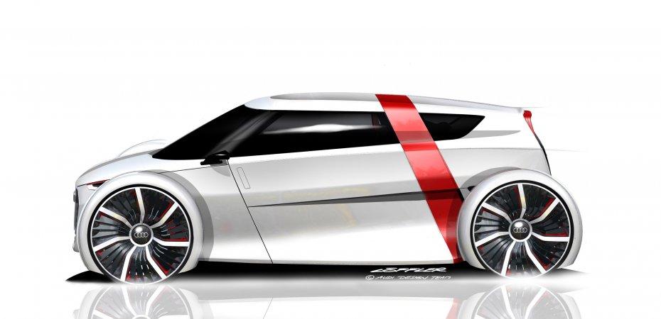 Audi urban сoncept: новая модификация Spyder