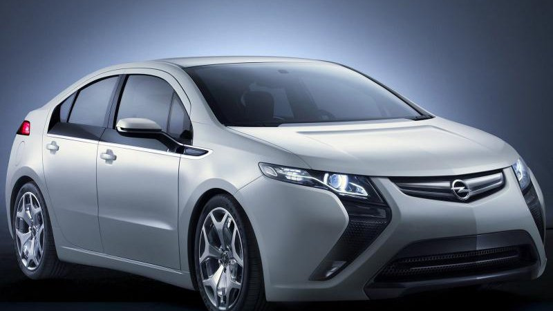 Opel Ampera получил пять звезд Euro NCAP