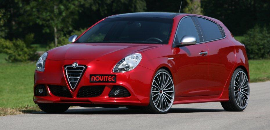 Тюнинг ателье Novitec показало Alfa Romeo Giulietta