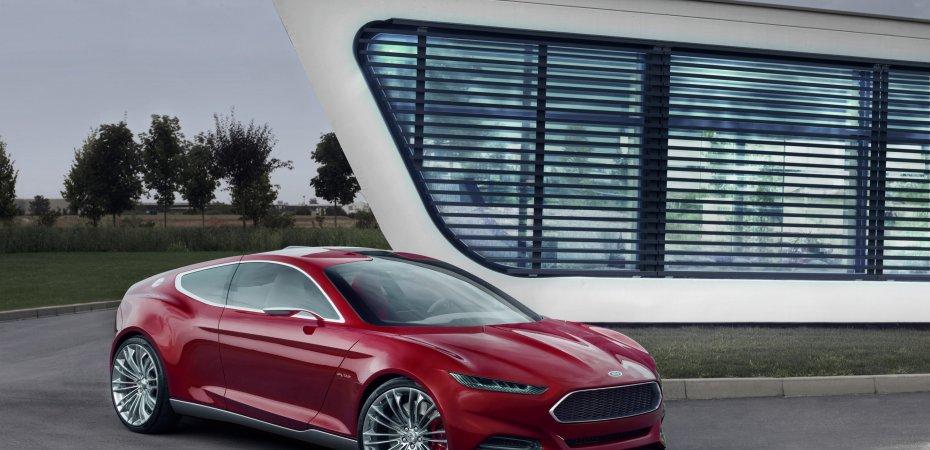 Во Франкфурте Ford представит новый концепт-кар Evos