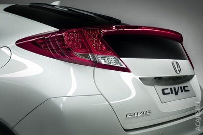 Опубликовано фото нового Хонда Цивик 5D (Honda Civic 5D)
