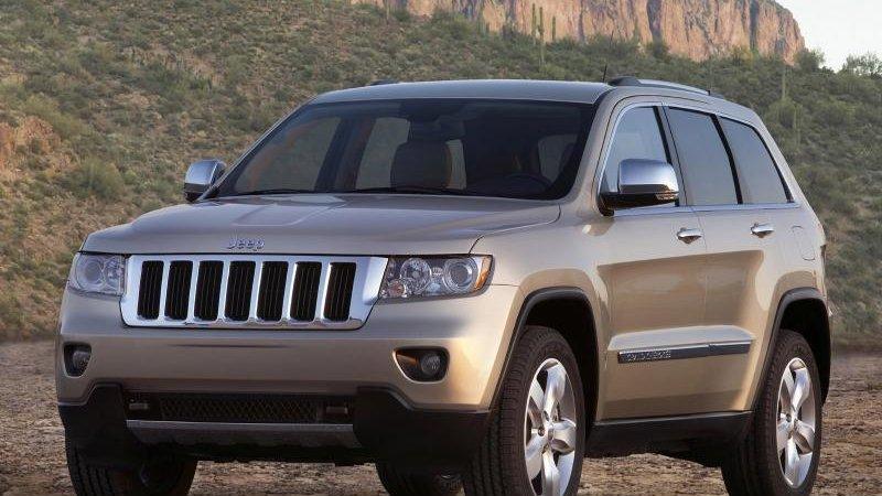 Джип Гранд Чероки (Jeep Grand Cherokee) сменил дизель