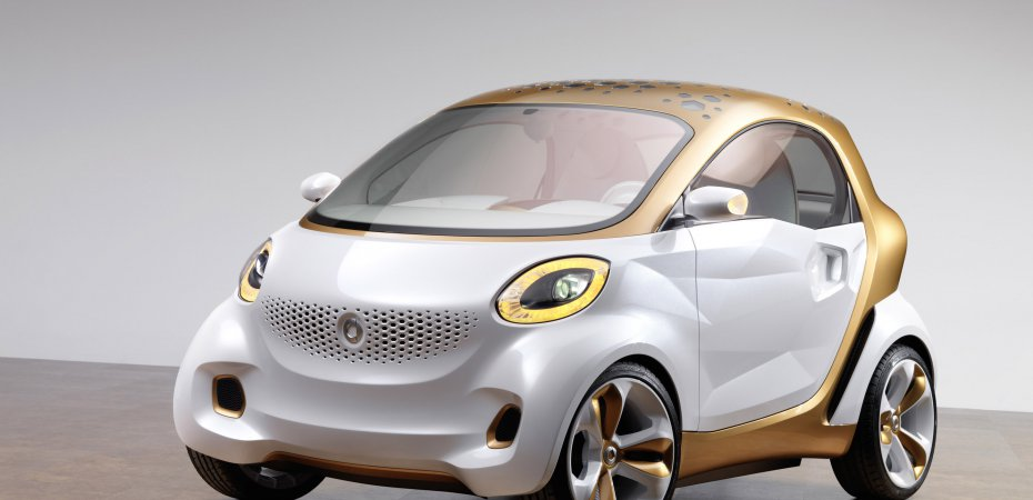 Smart Forvision (Смарт Форвижн) инновационный концепт от Daimler и BASF