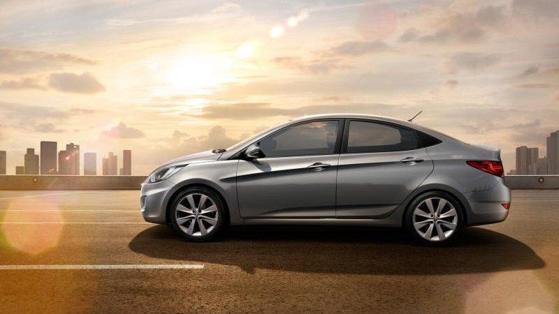 Хендай Солярис (Hyundai Solaris) стал самой популярной иномаркой