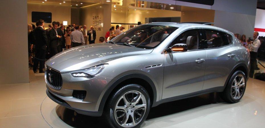 У Мазерати (Maserati) появился внедорожник Кубанг (Kubang)