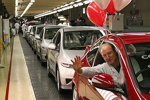 Хонда (Honda) построит завод в России