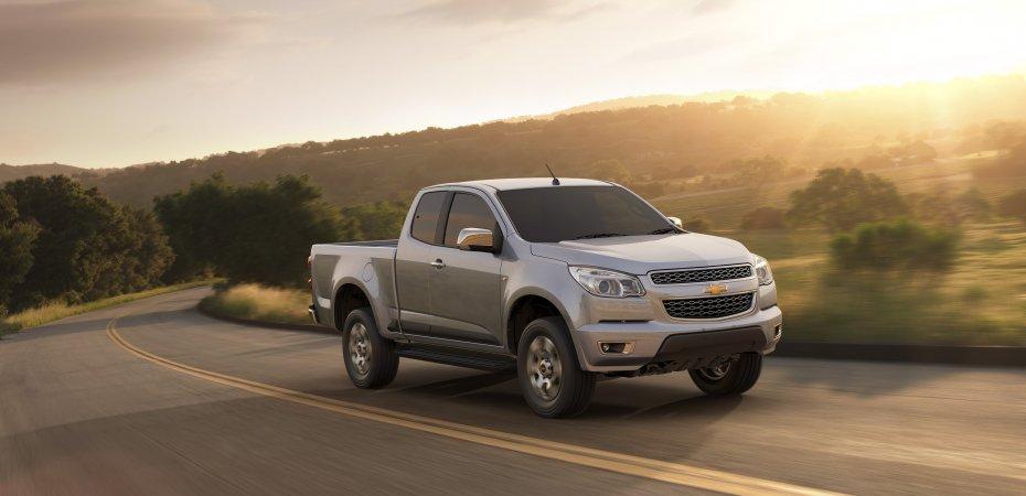 GM представила обновленный Chevrolet Colorado в Таиланде