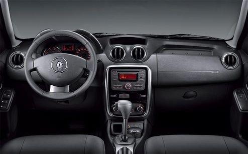 Рено (Renault) показал интерьер Дастера (Duster)