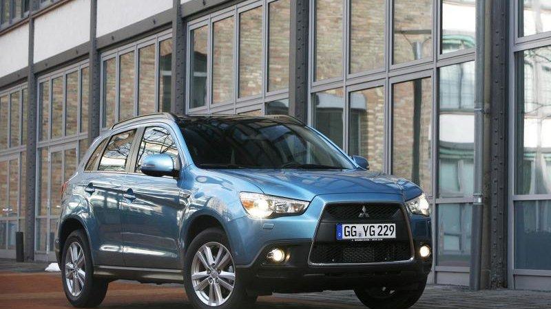 Старт продаж и цены Mitsubishi ASX (Митсубиши) 2012 модельного года