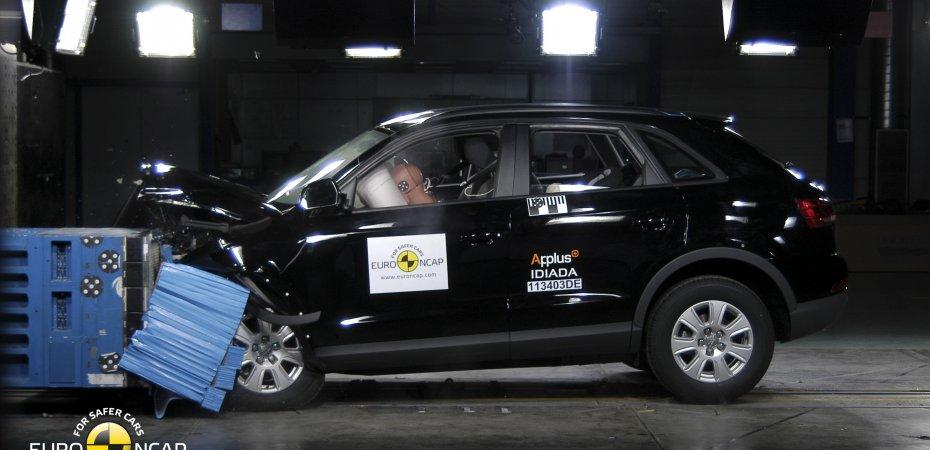 Ауди Q3 получил пятерку в краш-тестах Euro NCAP