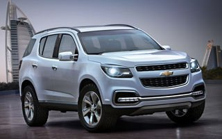 Новый Шевроле ТрейлБлейзер (Chevrolet TrailBlazer) скоро в продаже