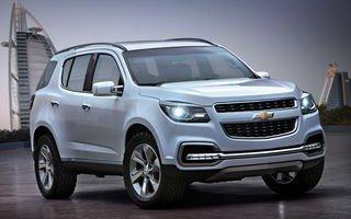 Новый Шевроле ТрейлБлейзер (Chevrolet TrailBlazer) скоро в продаже