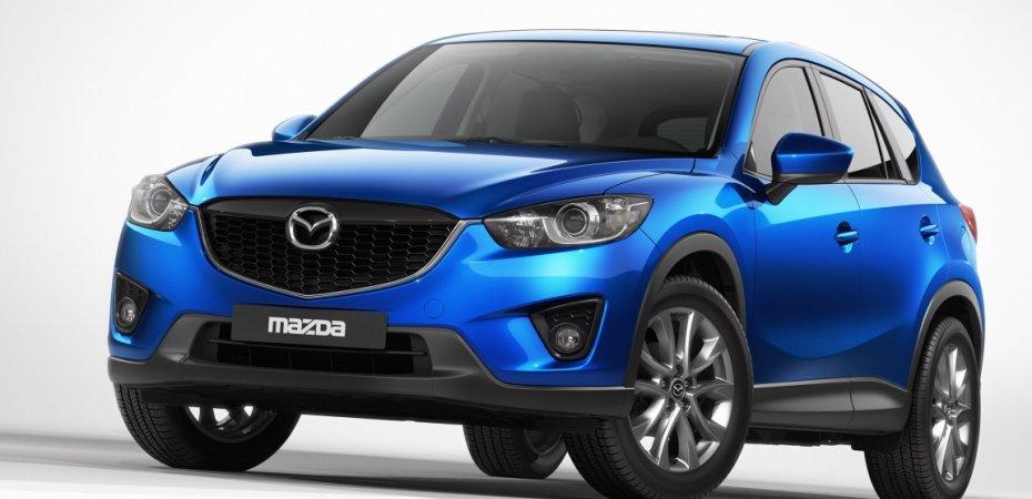 Озвучены цены на Мазда СХ-5 (Mazda CX-5)