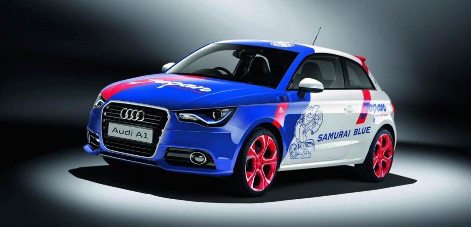 Эксклюзивный Ауди А1 (Audi A1) SAMURAI BLUE представлен на автосалоне в Токио
