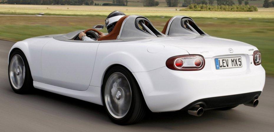 Новый Мазда МХ-5 (Mazda MX-5) оснастят мотором 1,3 л