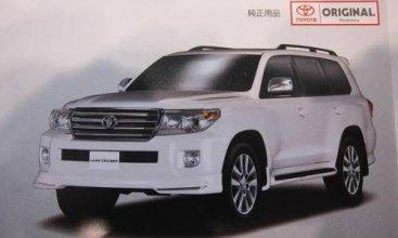 Тойота Ленд Крузер 200 (Toyota Land Cruiser 200) дожил до обновления