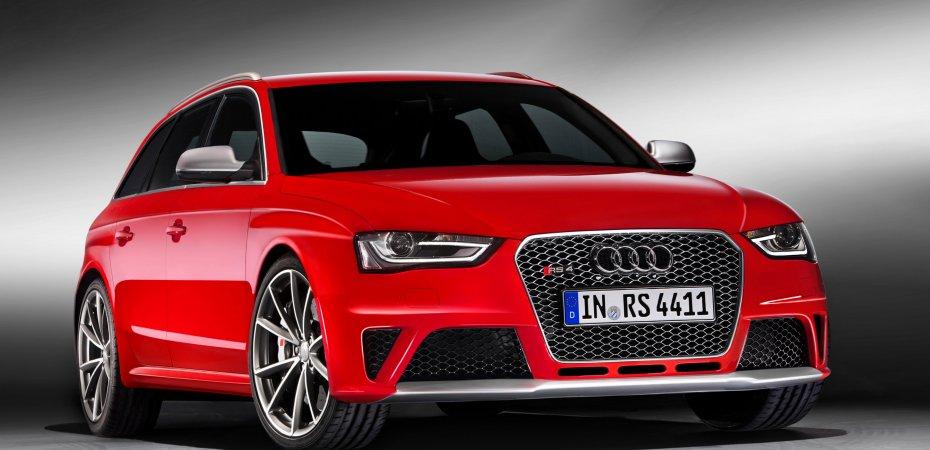 Третье поколение Audi RS 4 Avan