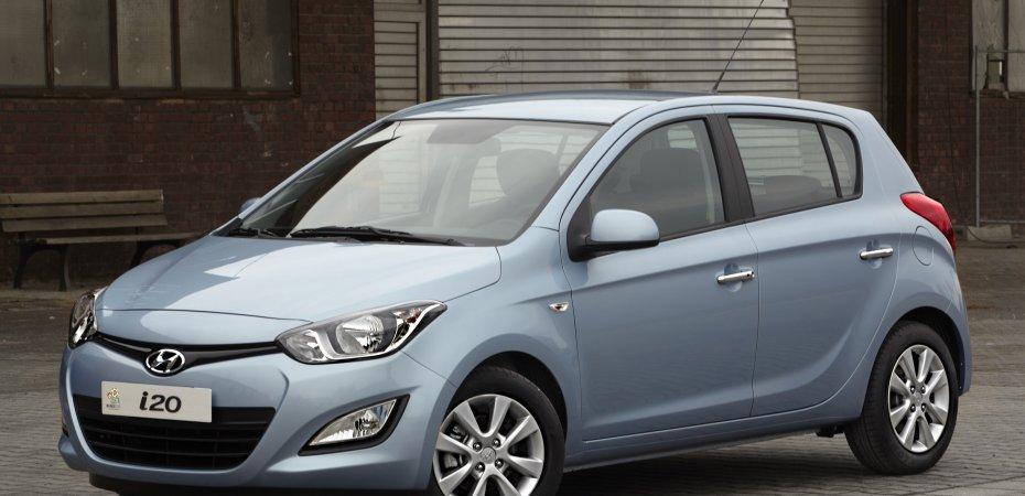 Hyundai представляет обновленный i20