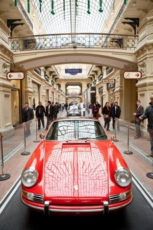 «Улица Porsche» в центре Москвы