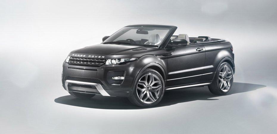 Премьера концепт-кара Range Rover Evoque Convertible в Женеве