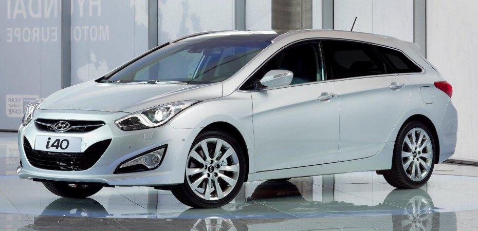 Хендай объявляет цены на новую модель Hyundai i40