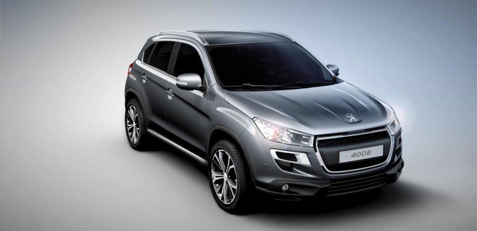 Peugeot анонсирует цены на модель Пежо 4008