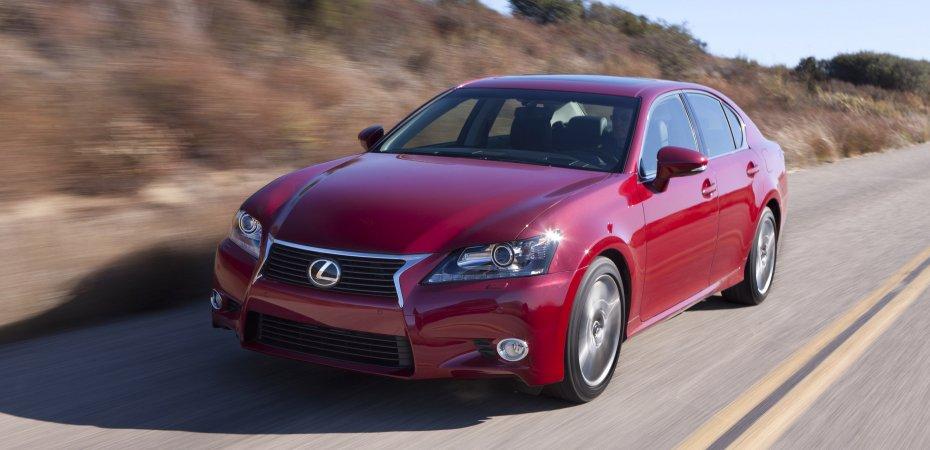 Начало продаж нового Lexus GS