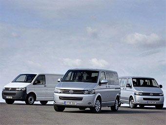 Volkswagen обновляет Transporter и Multivan