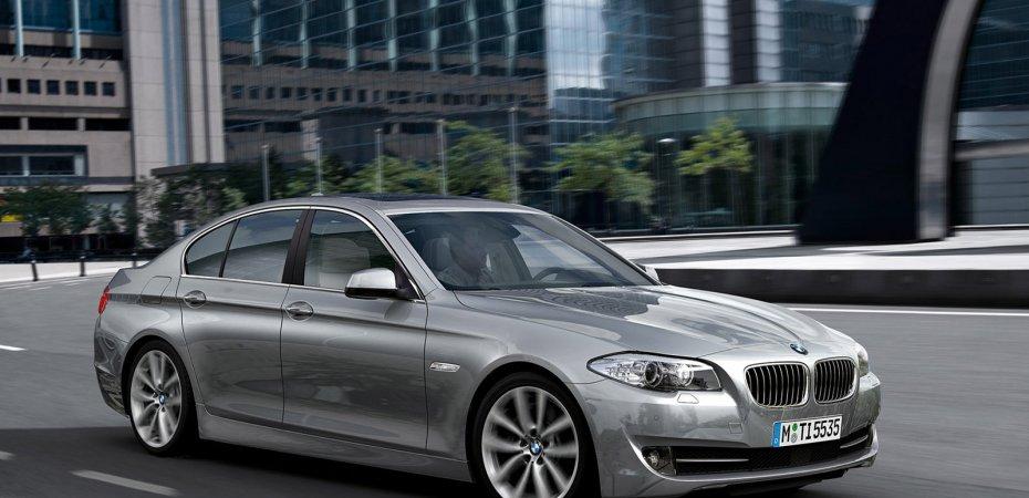 Успех BMW 5 и 6 серии на премии «Автомобиль года в России 2012»