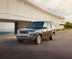 Лэнд Ровер представил в Нью-Йорке Land Rover Discovery 4 HSE Luxury Limited Edition