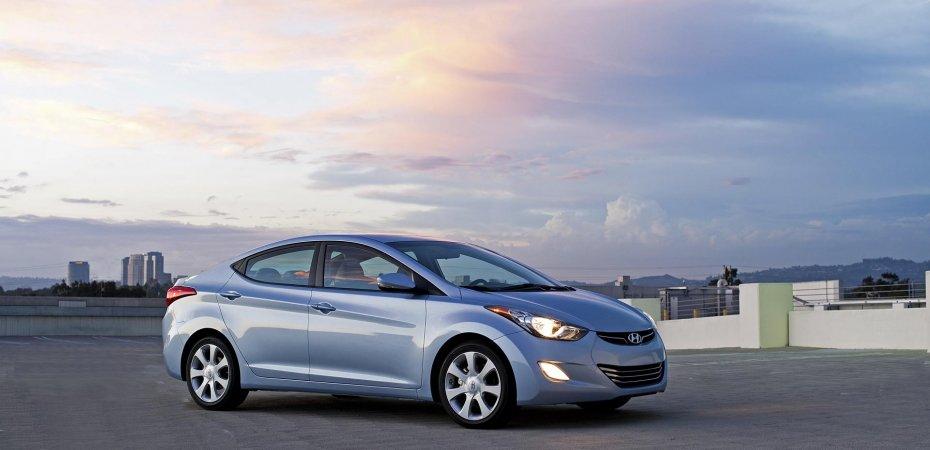 Hyundai Elantra вошла в топ-10 самых экологически чистых автомобилей