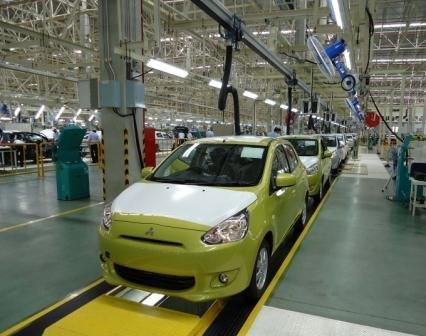 Mitsubishi Motors запустила производство Mitsubishi Mirage