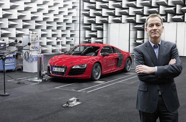 Акустические инновации: e-sound от Audi
