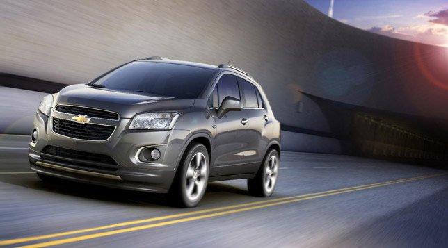 Chevrolet пополнит свою линейку новым компактным кроссовером