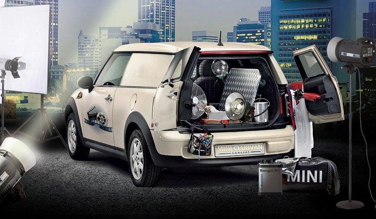 Старт продаж нового фургона MINI Clubvan