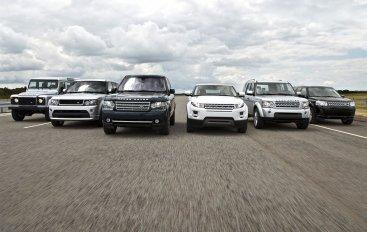 Land Rover получил звание «Автопроизводитель года-2012»