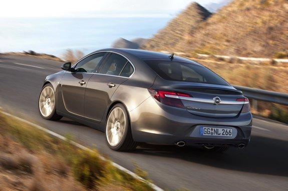 Opel Insignia обновился
