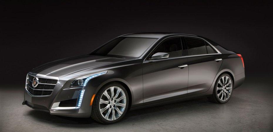 Новый Cadillac CTS стал дороже и богаче