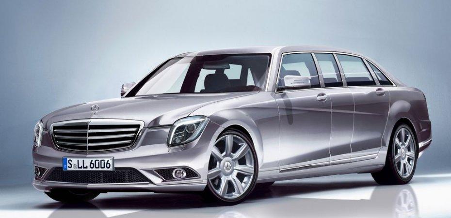 Mercedes S Pullman покажут через год