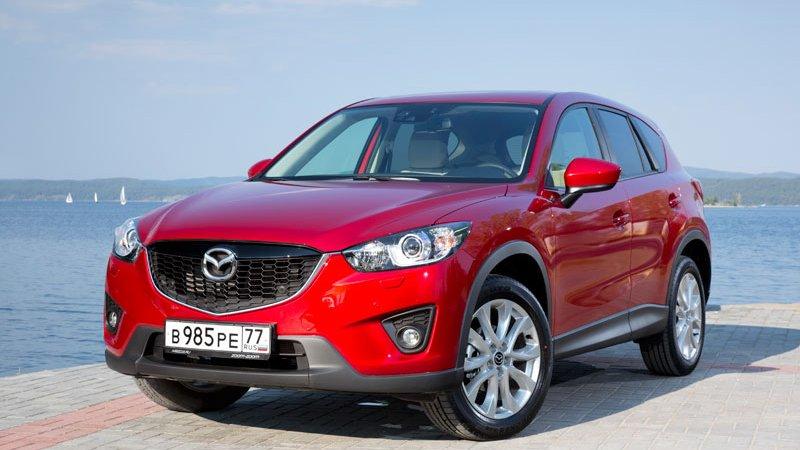 Mazda CX-5 наращивает мощь