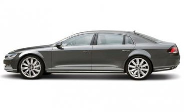 Новый Volkswagen Phaeton - в январе