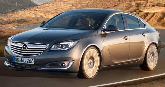 Продажи Opel Insignia начались до премьеры
