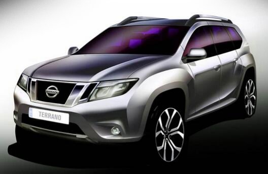 Nissan Terrano покажут 20 августа