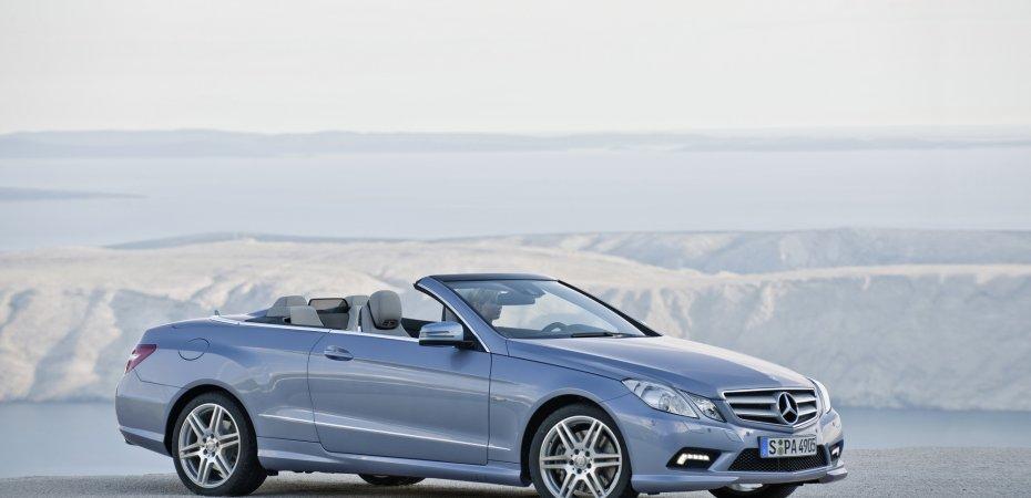 Мерседес Е (Mercedes E) стал самым привлекательным