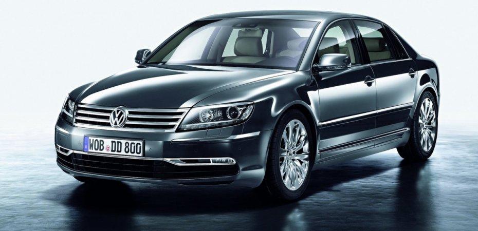Новый Фольксваген Фаетон (Volkswagen Phaeton) уже в продаже