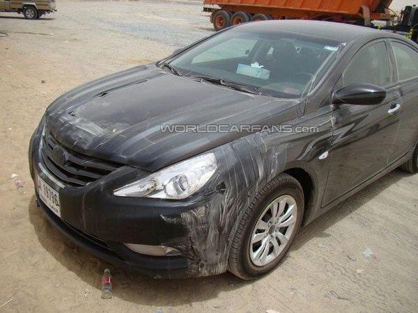 Hyundai уже испытывает новую Sonata