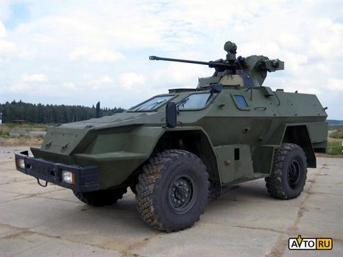 КАМАЗ представил бюджетный бронеавтомобиль